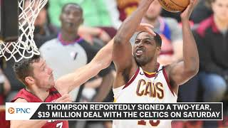 <b>Tristan Thompson</b> Shares Excitement For Joining The Boston Celtics