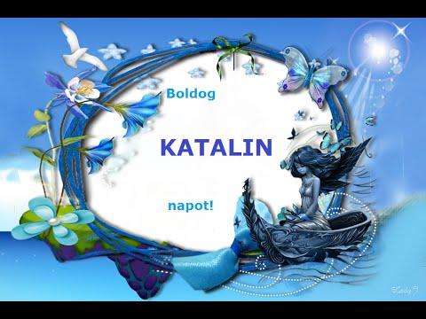 köszöntő katalin napra Névnapi köszöntő  Katalin napra   YouTube köszöntő katalin napra
