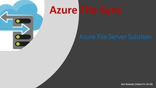 Gambar cover Azure File Sync