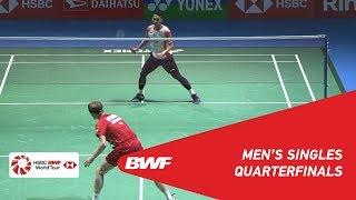 QF | MS | Jonatan CHRISTIE (INA) [6] vs. Anders ANTONSEN (DEN) | BWF 2019