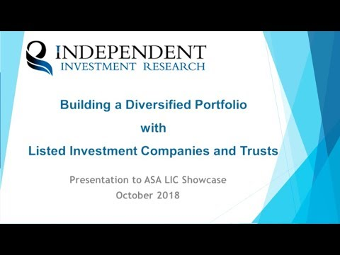 Building a LIC portfolio