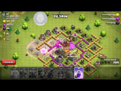 Clash Of Clans: Inside The Clan Castle