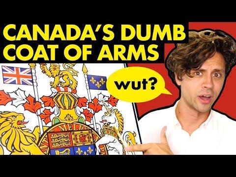 Canada's dumb coat of arms