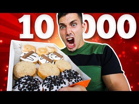 10.000 CALORIAS CHALLENGE - RETO 10000 KCAL EN UN DIA