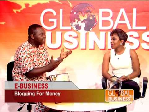 Omonike Odi, Top Blogger interviewed on AIT's Global Business with Emmanuel Ohiomokhare