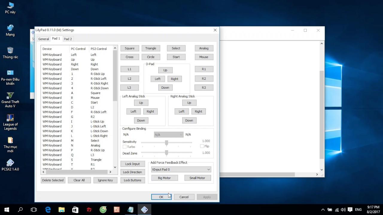 Hướng dẫn cài phím PCSX2 cho game DBZ BT3 và cách giảm lag PCSX2(1.4.0)