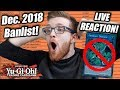 Yu-Gi-Oh! Official September 2018 TCG Banlist! LIVE REACTION!