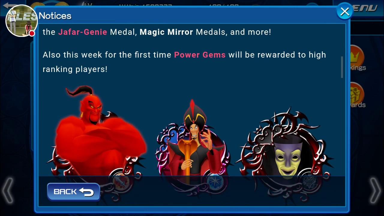kingdom hearts unchained x magic mirror