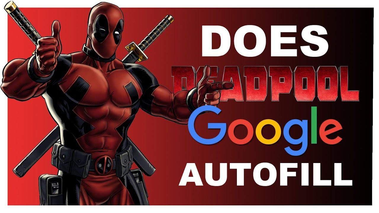 how to delete google autofill