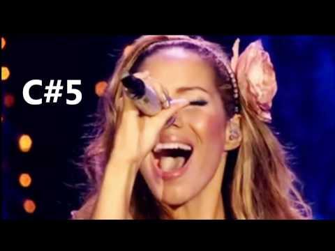 Jane Zhang(张靓颖) VS  Leona Lewis ( C3- F#6 )