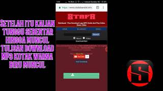 Gambar cover Cara mudah mendownload music MP3 di STAFABAND di android/PC