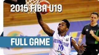 Dominican Republic v Iran - Classification 13-14 - Full Game - 2015 FIBA U19 World Championship