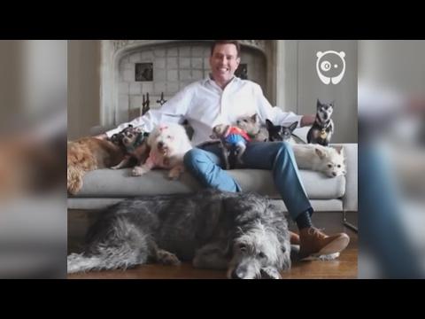 Guy Loves Adopting Old Animals
