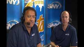 Gary Cohen and Ron Darling discuss Michael Conforto's 4 RBI game in...
