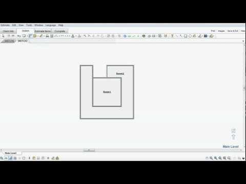 Xactimate Sketch tip – Room in a Room | Top Adjuster