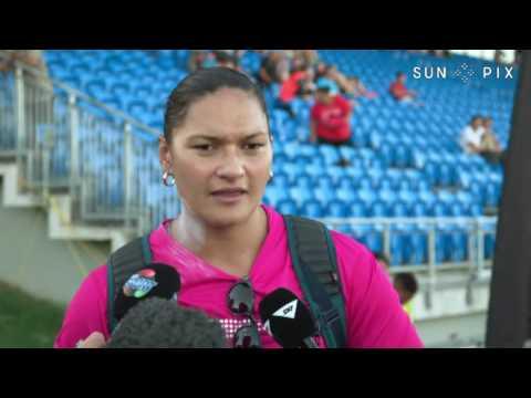 Valerie Adams Road to Rio Olympics