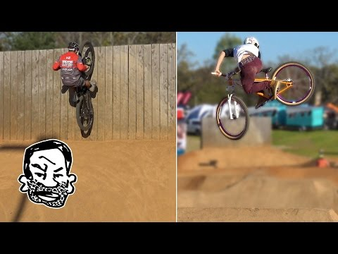 MTB Moto whips, super fast trails, Arkansas IMBA World Summit day 2 - RWS EP9