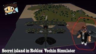 Secret island in Roblox Vechin Simulator (ROBLOX)