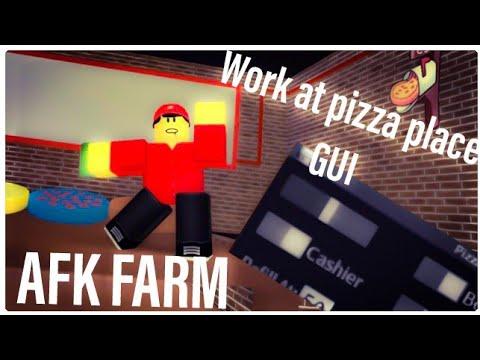 [AutoFarm] Roblox Work At Pizza Place script hack/GUI | Roblox Exploiting