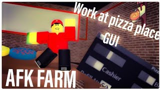 [AutoFarm] Roblox Work At Pizza Place script hack/GUI | Roblox Exploiting
