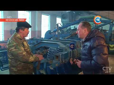 Один день из жизни белорусского тракториста-механизатора