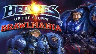 Heroes Of The Storm BRAWLMANIA! Marines VS Wizards (Gamescom 2016)