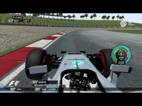 Hot Lap Malaysia Mercedes Rfactor | Patrick34 | Ramon Rguez