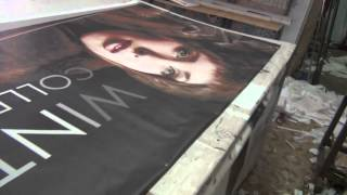 Баннерная растяжка, 1.2х3 метра. Печать баннеров, Минск.(, 2014-11-04T16:23:14.000Z)
