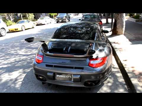 Evosport tuned Porsche 911 Turbo! European Magazine cover car!