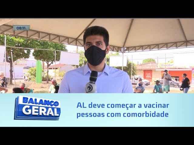 Blog do Ricardo Mota - Próxima etapa: Alagoas deve começar a vacinar pessoas com comorbidades