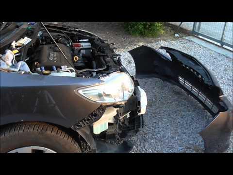 2007-2013 Toyota Corolla How To Remove/Replace the Front Bumper Αφαίρεση Μπροστινού Προφυλακτήρα