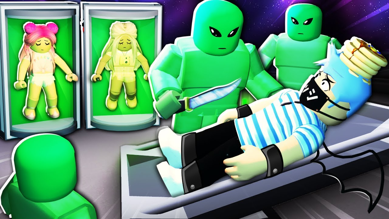 Don't let this alien take you to his spaceship... Roblox Alien!