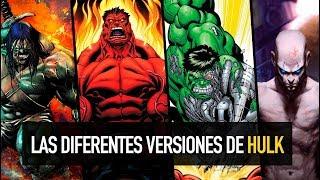Las diferentes versiones de Hulk