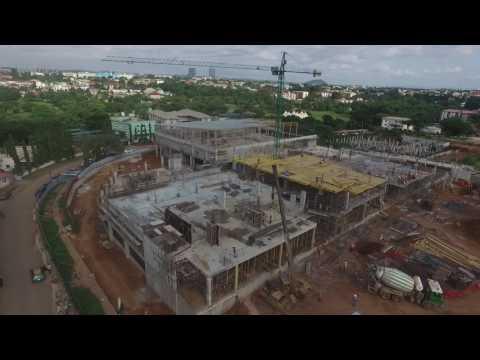 Progress of Novare Central, Abuja Nigeria – June 2017
