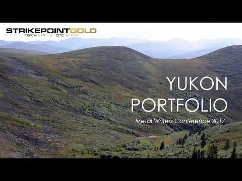 Strikepoint Gold's Yukon Portfolio - Andy Randall VP of Exploration