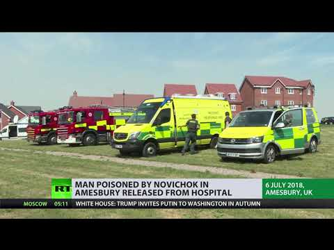 Amesbury incident latest: Man reportedly poisoned by Novichok discharged from hospital