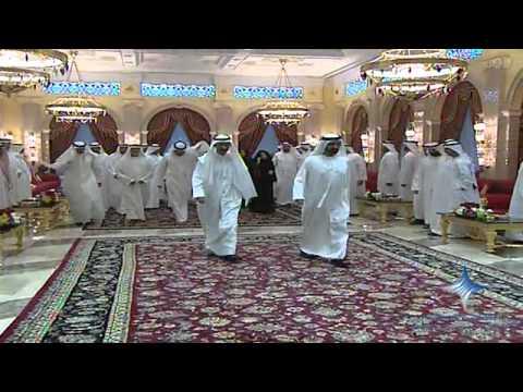 محمد بن راشد يستقبل رئيس وأعضاء المجلس الوطني الاتحادي