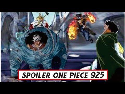 Awas Spoiler.!! One Piece CP.925