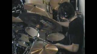 Devildriver-Clouds Over California (drum cover)