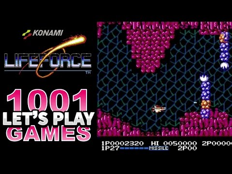 Life Force / Salamander (Arcade & NES) - Let's Play 1001 Games - Episode 187