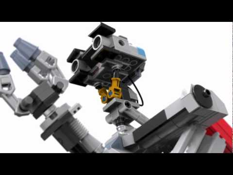 Lego johnny 5 short circuit youtube