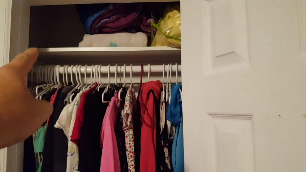 The Tiny Closet Remodel   Double The Clothes Space!