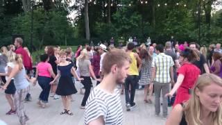 Summer Swingdans in Fælledparken, Copenhagen