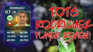 TOTS RICARDO RODRIGUEZ PLAYER REVIEW W/IN GAME STATS!