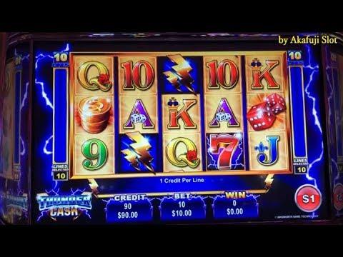 Akafuji Slot★Slots Weekly Highlights #14★+ Unpublished Video Thunder Cash Slot San Manuel Casino