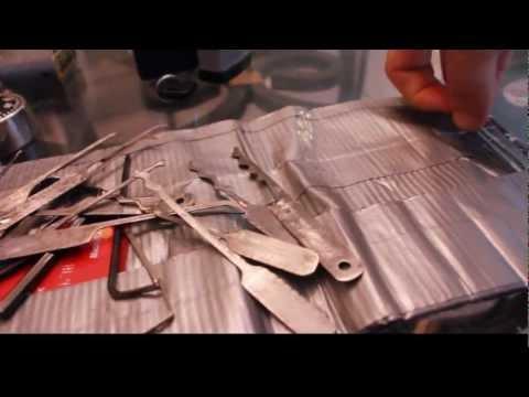 Homemade Lock Picking Tools
