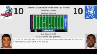 week 3 tacoma thunder 1 1 melbourne uni royals 2 0