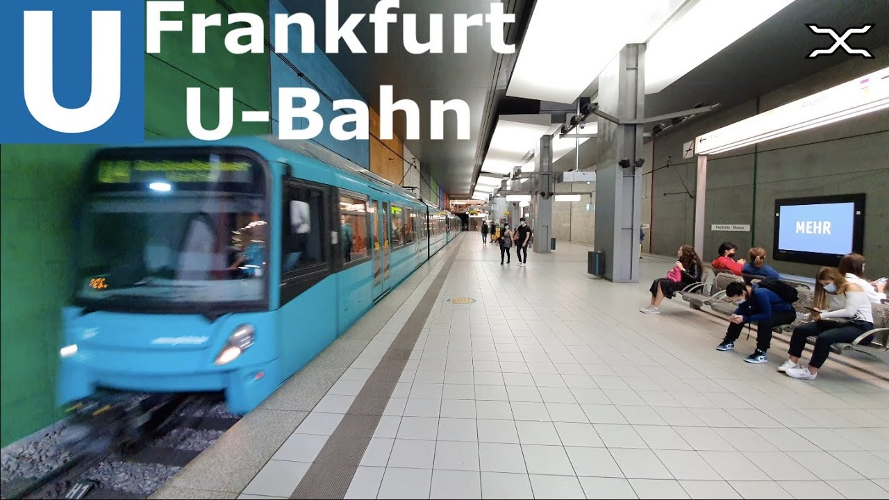 U-Bahn Frankfurt am Main | Stadtbahn | Light rail | VGF