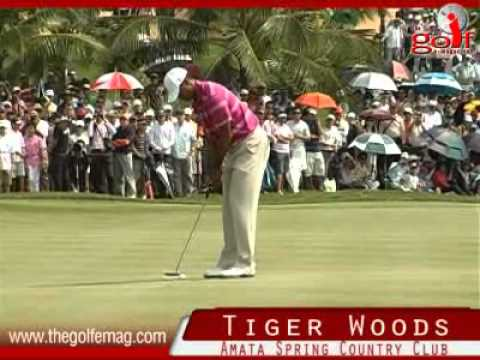 Tiger Woods in Thailand