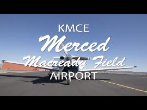 Flying with Tony Arbini into the Merced Macready Field Airport (KMCE)-Merced, California